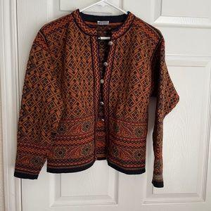 Dale of Norway wool sweater cardigan